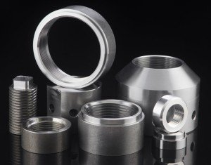 Precision parts machined by Roberts Machine Products