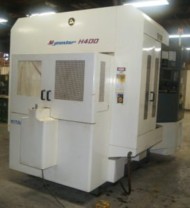 "Kitamura H400 horizontal 2 pallet 20""X 20"" Y machining center at Roberts Machine Products, West Liberty, Ohio"