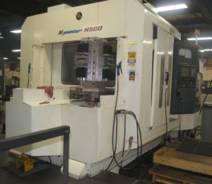 Kitamura H500 horizontal machining center at Roberts Machine Products, West Liberty, Ohio