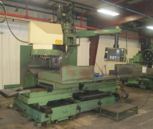 Leadwell MCV2000D vertical machining center at Roberts Machine Products, West Liberty, Ohio