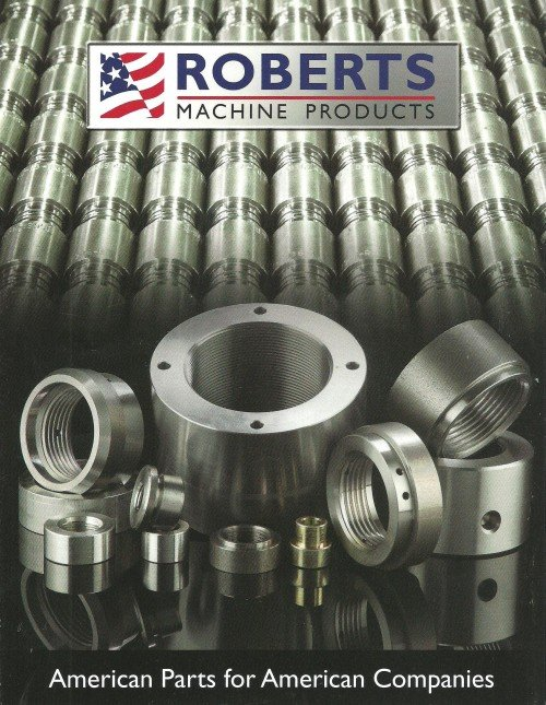 Roberts Machine Products sales brochure