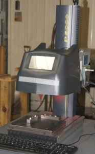 Propen P5000 marking machine at Roberts Machine Products, West Liberty, Ohio